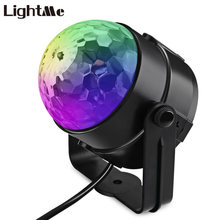 Christmas Laser Outdoor LED Stage Lighting Lamp Transparent Ball Rotating Disco RGB Light Wedding Party Projector Garden Laser