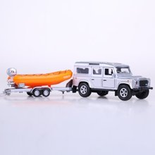 Brand ETI rescue ship lifeboat set acousto-optic diecast warrior children toy truck off-road free shipping best model car gift(China)