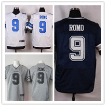 Mens 9 Tony Romo Jersey 2017 Rush Salute to Service High Quality Football Jerseys(China)