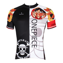Cycling Jersey Men Anime One Piece Luffy Cycling Clothing Men T-shirt Short Sleeve Men Cycling Clothes Jersey X403