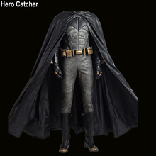 Hero Catcher High Quality Justice League Batman Costume With Cape