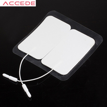 20 Piece Electrode Pads Tens Electrodes for Tens Digital Health Care Therapy Machine Massager 5*9cm with 2mm Plug