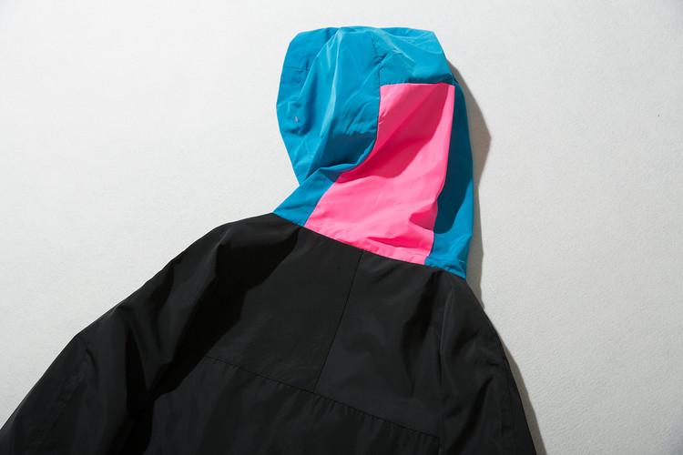 Vintage Color Block Zip Up Track Jacket 9