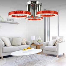 Homdox Creative Led Ceiling Light with Bulbs Ceiling Lamp Modern personality brief Home lightings hot sale(China)