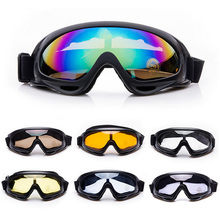 Winter Snow Sports Skiing Snowboard Snowmobile Anti-fog Goggles Windproof Dustproof Glasses UV400 Skate Ski Sunglasses Eyewear(China)