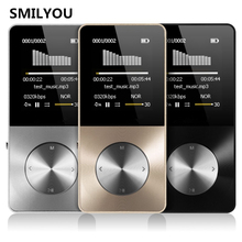 HiFi Metal MP4 Player Built-in Speaker 4GB 8GB 16GB 1.8 Inch Screen can Support 32GB SD Card with Video Alarm FM Radio E-Book
