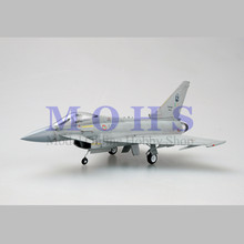 EASY MODEL 37143 1/72 Assembled Model Scale Finished Model Airplane Scale Aircraft Fighter EF2000 EF-2000A ITALIAN AIR FORCE