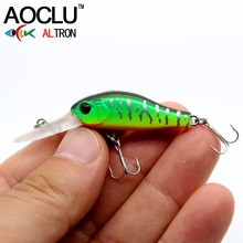 AOCLU wobblers Jerkbait 7 Colors 35cm 2.4g Hard Bait Minnow Crank Fishing lures Bass Fresh Salt water 14# VMC hooks(China)