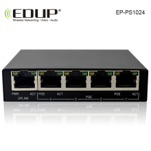 EDUP 8 port 10 / 100M POE Switch network of compatible network cameras and wireless AP power IEEE 802.3af EU/US Plug(China)