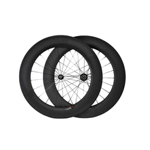 Only 1760g Ultra Light carbon wheels 88mm clincher carbon bike road wheelset(China)