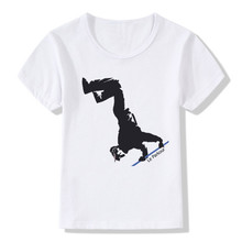 Buy 2017 Children Print Parkour Hipster T-shirt O-Neck Short Sleeve Summer Boy&Girl Hip Hop Cool Streetwear Tops Tees T Shirt HKP768 for $5.33 in AliExpress store