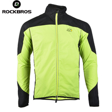 ROCKBROS Cycling Sports Men's Bike Bicycle Cycle Long Sleeve Windproof Breathable Quick Dry Jersey Wind Coat Rain Coat Jacket