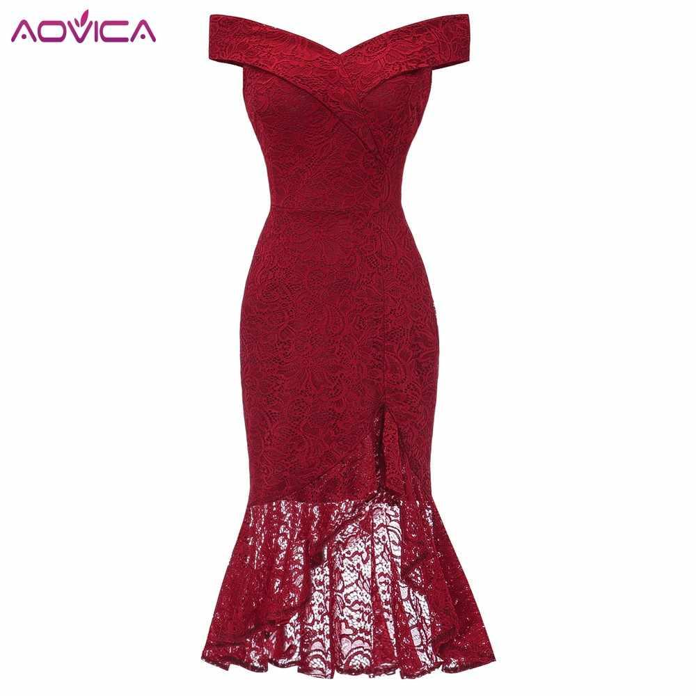 Vestidos para mujer rojo