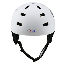CE safety  water sports head guard safety  kayak helmet   skating head protective white/ yellow