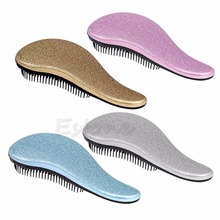 Hot 1pc For Magic Handle Tangle Detangling Comb Hair Shower Brush Styling Salon Tamer