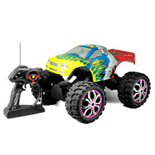 Professional large RC car 757-4WD07 high speed electric off road vehicle RC rock crawler truck 1:10 4WD radio control buggy car(China)