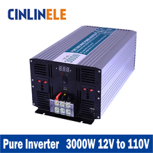 Smart Series Pure Sine Wave Inverter 3000W CLP3000A-121 DC 12V to AC 220V 3000w Surge Power 6000W Power Inverter 12V 110V