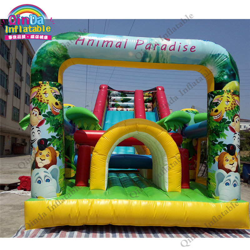 inflatable bounce obstacle adult71