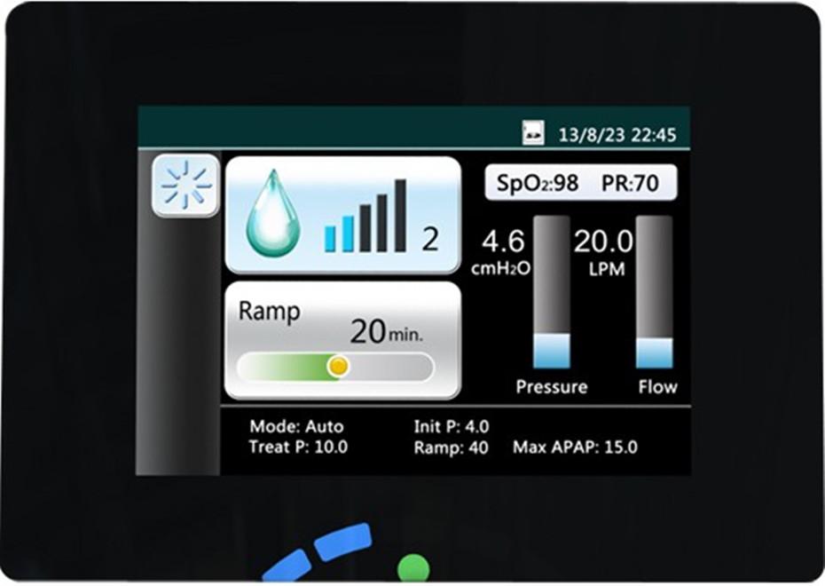 GII Auto CPAP Machine E-20AH-O Smart Home Ventilator For Sleep Snoring Apnea With Humidifier Mask Hose SD Card Free Shipping (33)