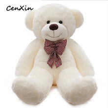 Teddy Bear Plush Toys Large Doll 1.6 m Hug Bear Doll Girl Birthday Gift Q Version Bear Doll Christmas Gift BOBOWA Toys