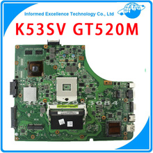 Original Laptop Motherboard K53SV REV : 3.0 3.1 2.3 2.1 Fit For ASUS K53S A53S X53S P53S Notebook N12P-GS-A1 GT 520M