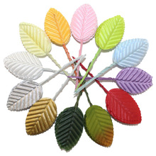 CCINEE 100PCS Artificial Flower leaves For Home Decoration /Artificial Flower Bride Holding Flower