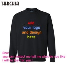 TARCHIA Free Shipping fashion casual parentalmen sweatshirt custom printed personalized designer logo mens coat boy hoodies(China)