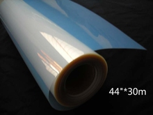 "44""*30m inkjet clear film for inkjet printing with labels(China)"