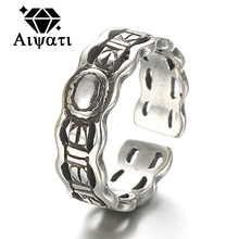 Thailand Silver Jewelry Rings Chain Design 925 Silver Ring Women