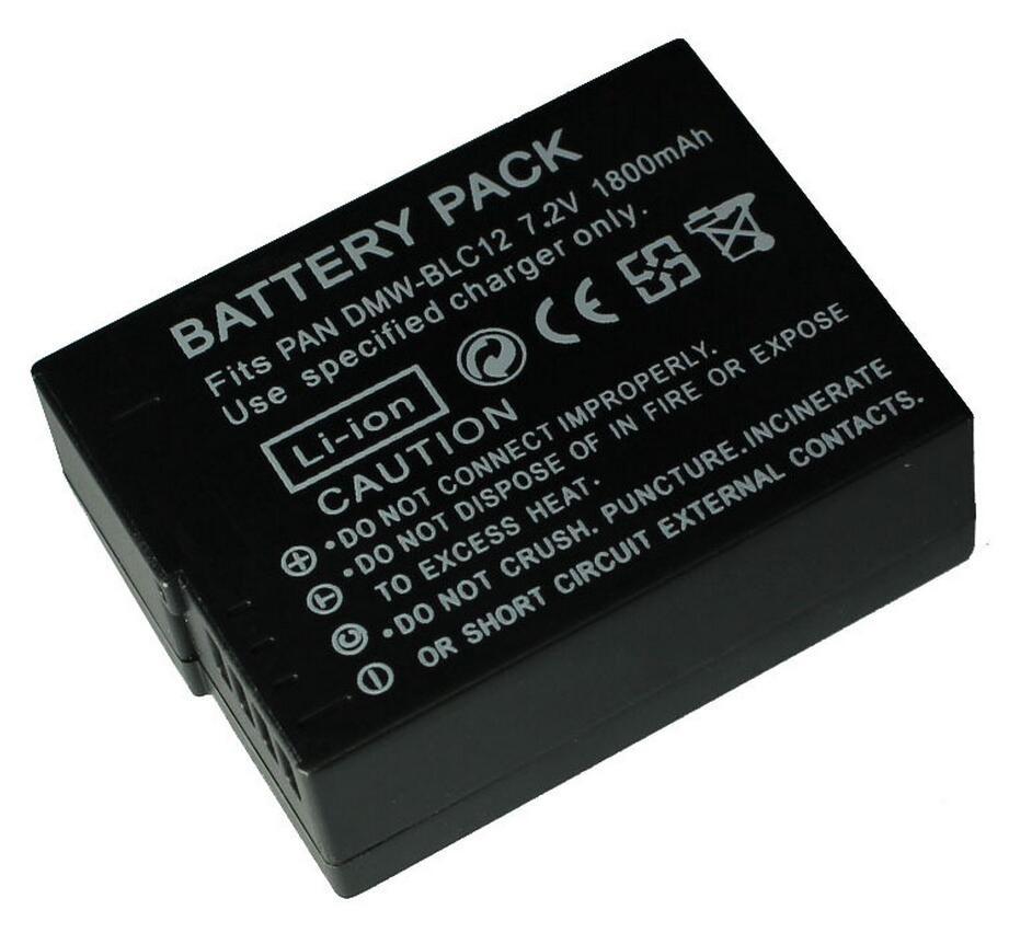 DMW-BLC12 DMW BLC12PP BLC12E BLC12 BP DC12 DC12U BP-DC12 1800mAh Battery for Panasonic DMC GH2 G5 G6 V-LUX4 DMC-GH2 FZ1000 FZ200<br><br>Aliexpress