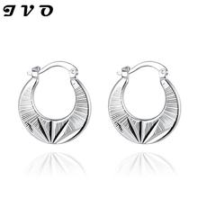 2016 New cheap clip earring supplier hot sale silver earrings factory oem free drop shipping fashion high quality jewelry