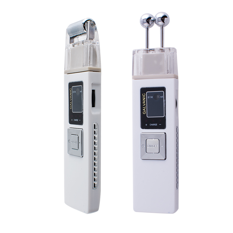 Quality Guaranteed Portable Galvanic Microcurrent skin firming machine Anti -aging Massager Skin Care Spa Salon<br>