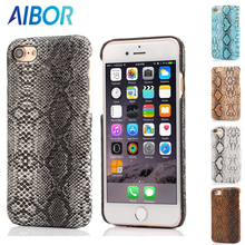 For iPhone 7 6 6S Plus 5 5S SE Luxury Sexy Crocodile Snake Leather Case Cover For Apple iPhone 7 6 6S Plus Phone Bag Coque