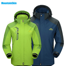 2017 Men&Women's Softshell Waterproof Jackets Outdoor Sport Brand Clothing Camping Trekking Hiking Male&Female Ski Jacket MA005