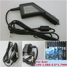 19V 1.58A 30W Car Adapter Charger For acer aspire One AOA110 AOA150 ZG5 ZA3 NU ZH6 D255E D257 D260 A110 Laptop Car Supply
