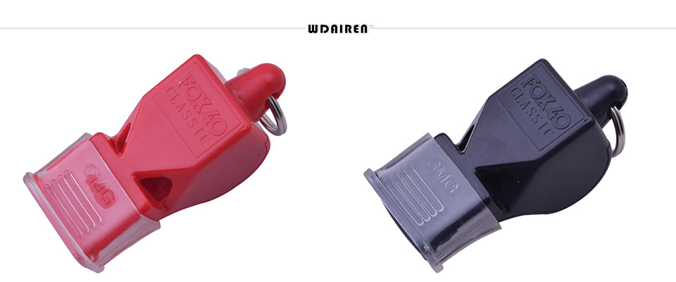 HTB1hR7GmgDD8KJjy0Fdq6AjvXXaG - High Quality Whistle Plastic FOX 40 Soccer Football Basketball Hockey Baseball sports Classic Referee Whistle Survival Outdoor