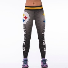 2017 New Falcons Standard Sportswear Legging Digital Printing Sweatpants Stretch The Hip Was Thin Fitness Activewear Leggings(China)