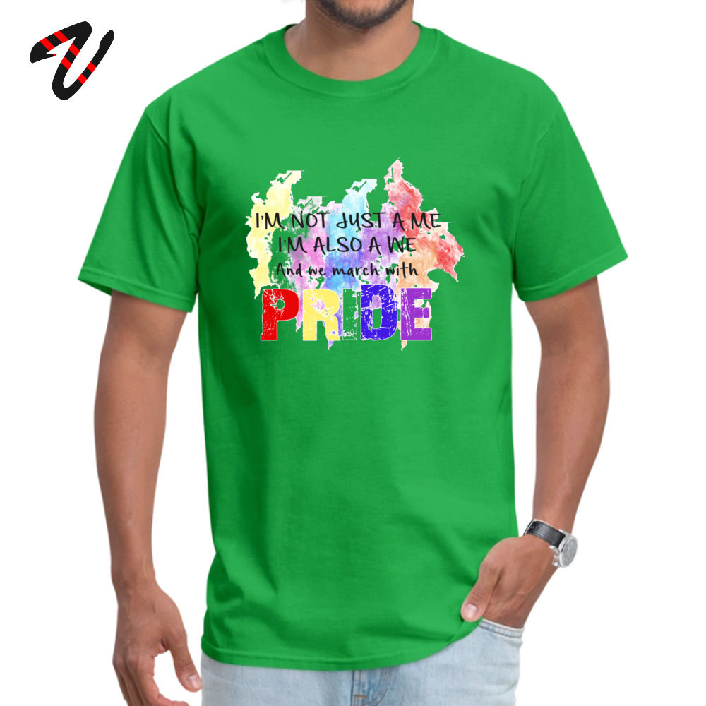 Fashionable Be Proud. Casual Short Sleeve Labor Day Tops T Shirt Newest Round Neck Cotton Fabric Sweatshirts Male Tshirts Be Proud. 238 green