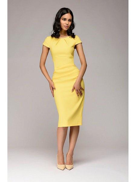 Summer 2018 Dress Women Solid Slim dress Short Sleeve Office Business Dress Elegant Sheath Party Vestidos 3