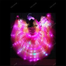 TC-173 Programming design led women light dresses wedding led costumes ballroom dance show party bar stage wears dj disco cloth(China)