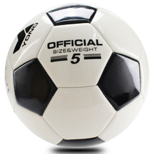 YONO Official Soccer Standard Size 5 PVC Football Professionals Amateurs Practice Match Training Ball Sports