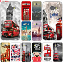 London big ben Bus Hard Case Cover for Samsung Galaxy A3 A5 J3 J5 J7 2015 2016 2017 & Grand Prime Note 2 3 4 5