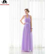 Cheap In Stock Light Purple Bridesmaid Dresses Sashes Off the shoulder Bridesmaid Dress  Real Photo 2017 A-Line dress US4-US16