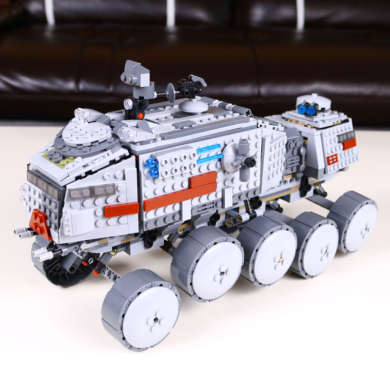 933Pcs Star Wars Clone Turbo Tank 75151 Building Blocks Compatible with lego 75151 STAR WARS Toy 05031 Boys Toys Gift<br>