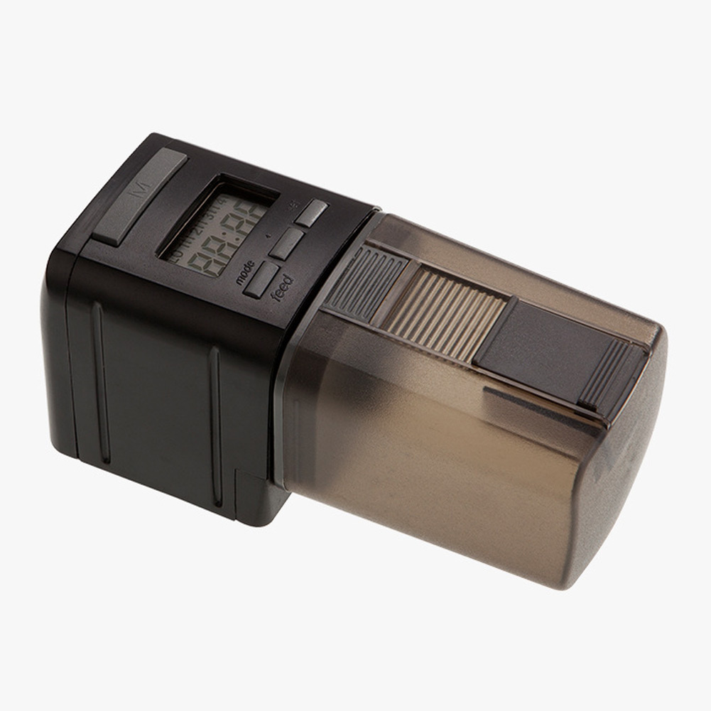 2016 New Programmable LCD Display Mini Auto Fish Feeder Aquarium Tank Automatic Food Timer Feeding Dispenser