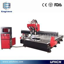 factory supply can custom made 3 axis vacuum table cnc router machine for wood(China)