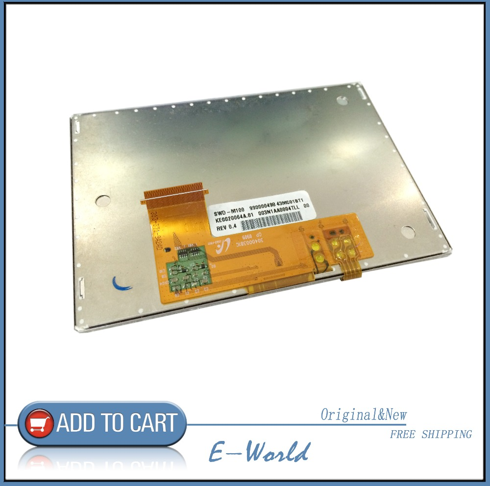 Original and New 4.3inch LCD Display screen for SWD-M100 990000498 43MC01BT1 with touch screen Free shipping<br>