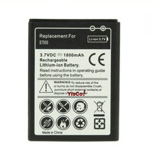 Cisoar 1x 1800mAh EB464358VU Replacement Battery For Samsung Galaxy Y Duos S6102 Galaxy Mini 2 S6500 S6802 Ace Plus S7500 S7508