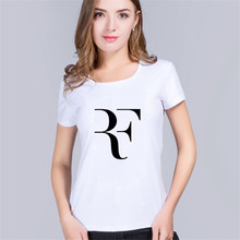 new summer Roger Federer Women t shirt RF raglan tshirt fashion 100% cotton hip hop loose t-shirt tops tees brand clothing mujer(China)