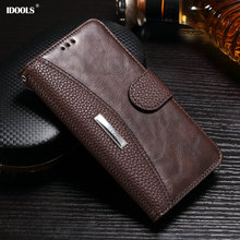 For Huawei Y5 II Case Leather Luxury Flip Wallet Cover Mobile Phone Bags Cases for Huawei Y5 II ii 5.0 Inch Card Holder IDOOLS(China)